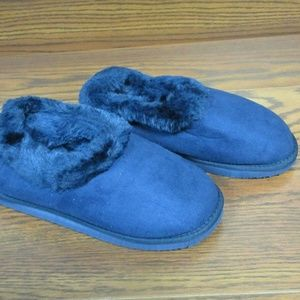 NEW Seranoma NAVY Indoor/Outdoor Ankle Slippers